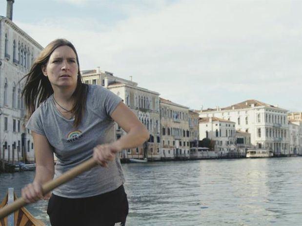 Fotografías cedidas por la Mostra de Cine de Venecia de la película 'Molecole' (Moléculas) de Andrea Segre.
