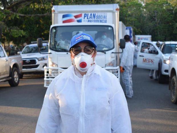 directora del Plan de Asistencia Social de la Presidencia, PASP, Iris Guaba.