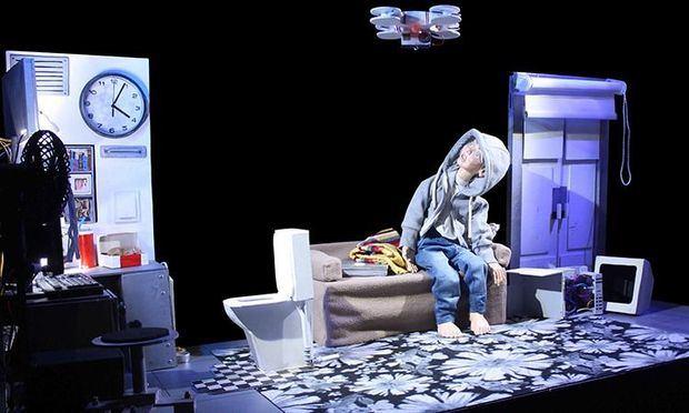Presentación de una de las obras de teatro que se realizan en el CCESD.