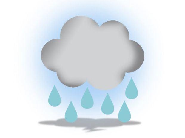 Nublados en algunas localidades con aguaceros dispersos y aisladas tronadas