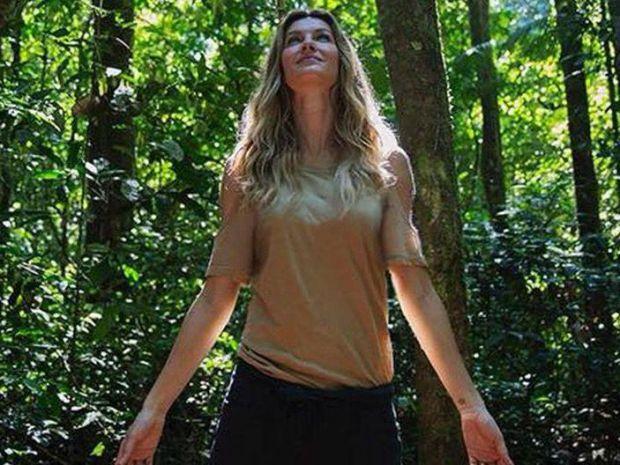 Gisele Bündchen, de modelo por azar a ambientalista por convicción