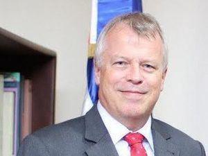 El embajador de Suiza, Urs Schnider.
