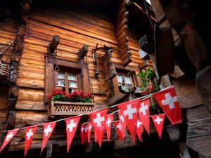 Fiesta Nacional de Suiza.