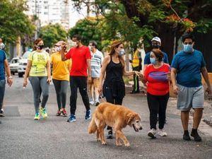 """Alcaldesa Carolina Mejía respalda """"Piantini Peatonal"""" para el disfrute de la ciudad."""