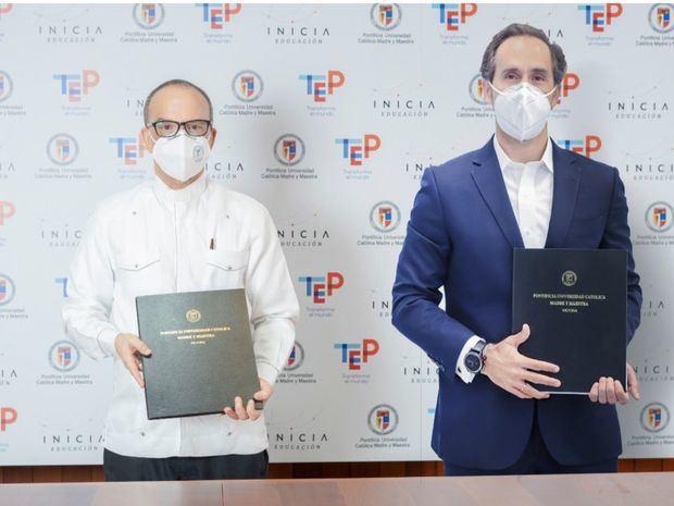 PUCMM e INICIA Educación forman alianza que ofrece carreras técnicas superiores