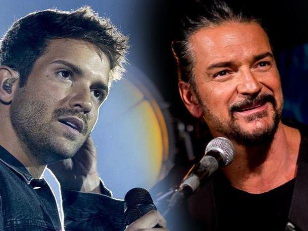 """Pablo Alborán canta a dúo con Ricardo Arjona para """"El Amor que me tenía""""."""