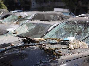 Beirut, dolor e indignación entre la destrucción y los vidrios rotos