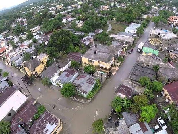 Las inundaciones en Hato Mayor han generado pérdidas materiales a 700 familias.