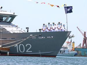 El primer buque donado por el programa regional que involucra a seis países del área, auspiciado por el Departamento de Estado y el Comando Sur de los Estados Unidos.
