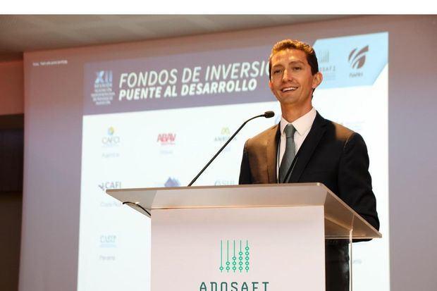 Santiago Sicard, Presidente del gremio que reúne a las sociedades administradoras de fondos de inversión del país.