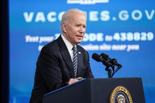 El presidente de Estados Unidos, Joe Biden, habla en conferencia de prensa en la Casa Blanca en Washington, EE.UU.