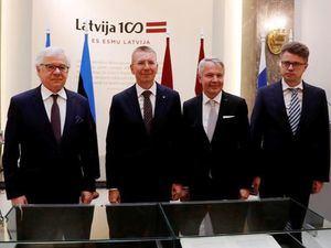 Letonia, Estonia, Finlandia y Polonia piden una reunión de la UE sobre Bielorrusia.