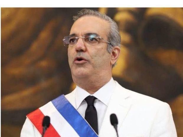 El economista Luis Abinader, de 53 años, quien asumió este domingo la Presidencia.