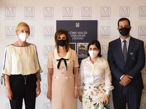 Inka Mantilla, Patricia de Moya, Biviana Riveiro y Manuel Luna.