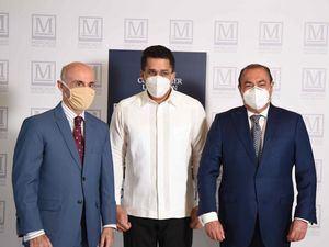 Alejandro Abellán García de Diego, David Collado y Diego Hugo de Moya.