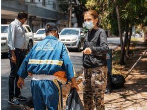 Carolina Mejía además exhortó a los residentes en el Distrito Nacional a resguardarse en sus hogares.