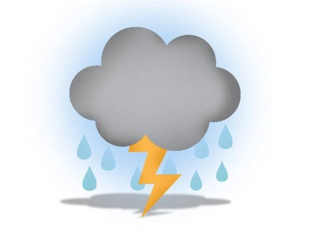 Vaguada provocará aguaceros y tronadas. Continúan los avisos meteorológicos