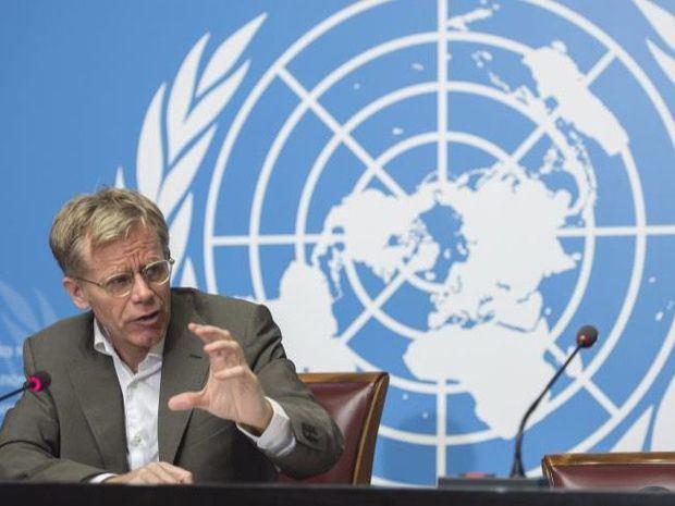 Director general de la Organización Mundial de la Salud, OMS, Bruce Aylward.