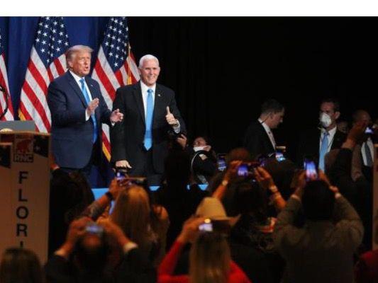 Donald Trump fue confirmado este lunes formalmente como candidato republicano a las elecciones del próximo 3 de noviembre.