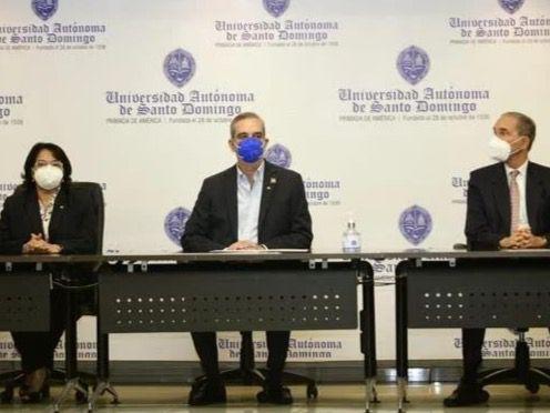 El presidente Luis Abinader destina 234.5 millones para la UASD