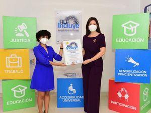 Claro recibe Sello Oro RD Incluye 2020 por prácticas inclusivas para personas con discapacidad .