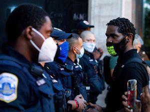 Desde finales de mayo, las protestas raciales se han reavivado en EE.UU. tras la muerte de un afroamericano, George Floyd.