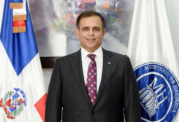 El ministro de Hacienda, Jochi Vicente.