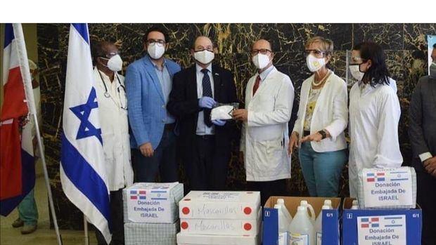 La Embajada de Israel donó insumos médicos a Hospital de Puerto Plata