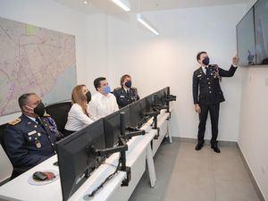 Inauguran el centro de operaciones David Collado en el CBDN