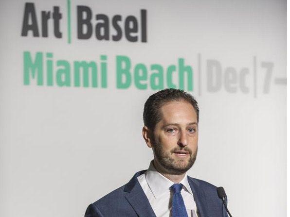 El director para América de Art Basel, Noah Horowitz.