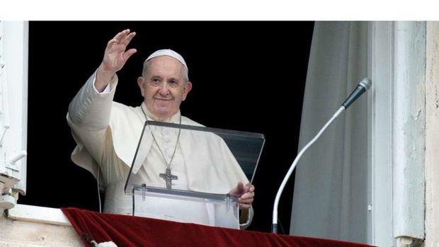 El Papa Francisco en el rezo del Ángelus.
