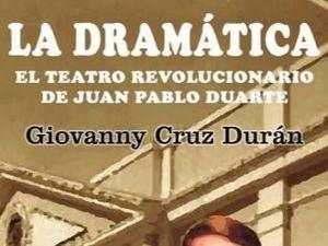 """Giovanny Cruz pone a disposición la versión digital de la obra """"La Dramática"""""""