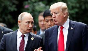 El presidente de Rusia, Vladimir Putin, y el presidente de Estados Unidos, Donald Trump.