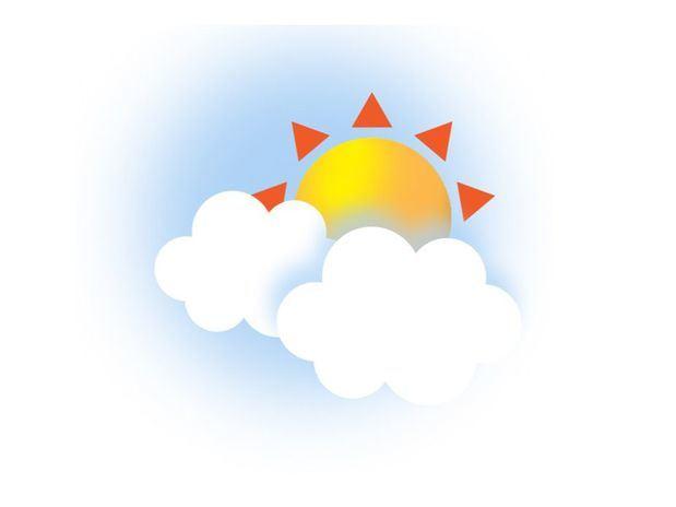 Temperaturas calurosas, poca nubosidad y sol en gran parte del país