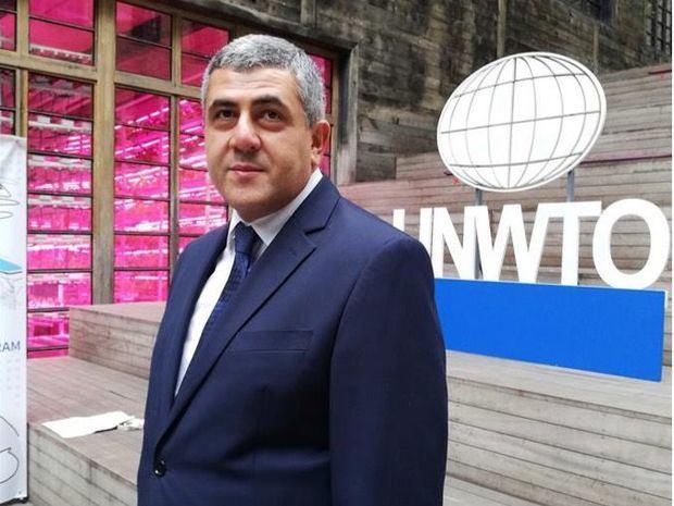 El secretario de la Organización Mundial del Turismo, Zurab Pololikashvili.