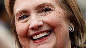 En la imagen Hillary Clinton.