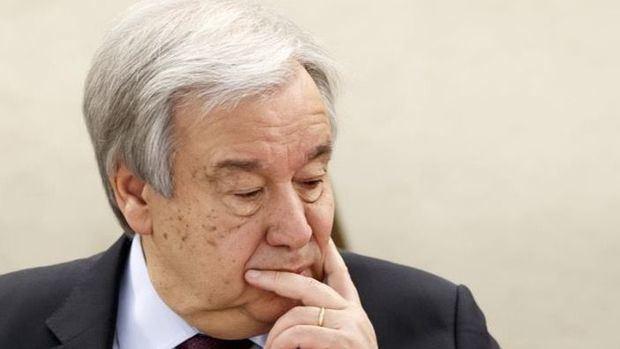 En la imagen, el secretario general de la ONU, António Guterres.