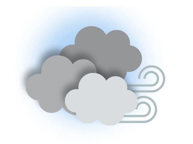 Aumento de la nubosidad y de las lluvias por incidencia de una vaguada y activa onda tropical