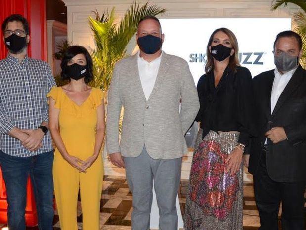 Carlos Romero, Ana Blanco, Luis Puello, Fabiana D'Agostino y Pedro García.