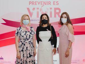 Dashira Martínez, María Arredondo y Laura Fernández.
