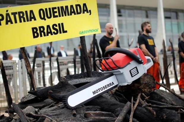 Greenpeace protesta contra el