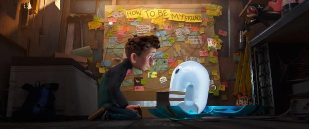Disney explora la caótica amistad entre un niño y un robot en