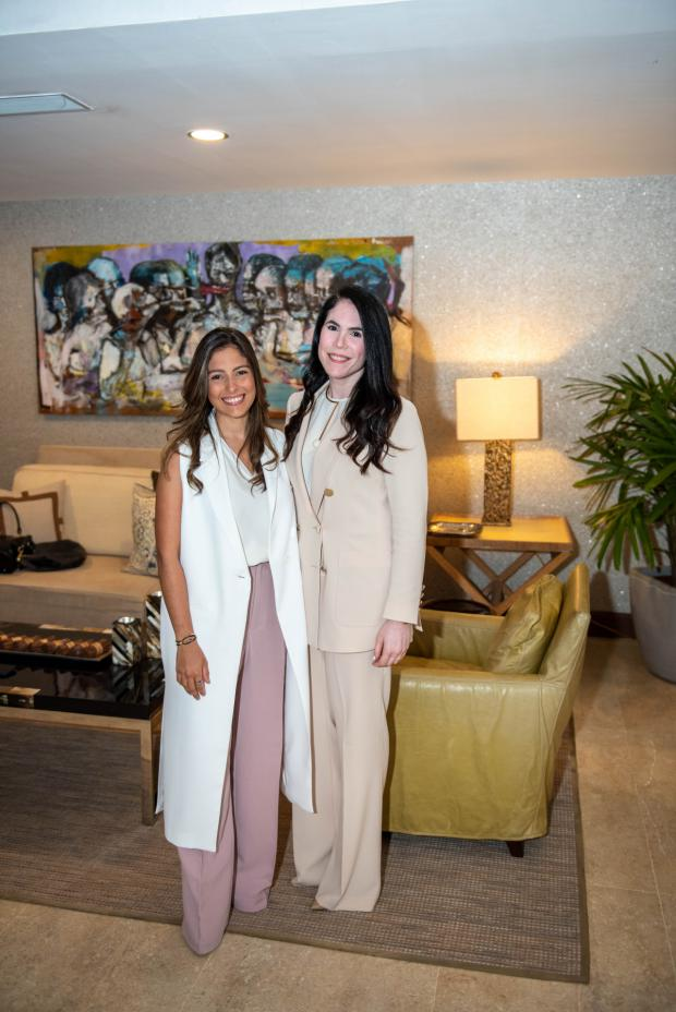 Diana Guerra y Dianne Bisonó