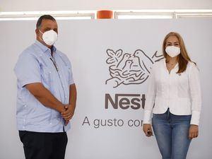 Miguel Laureano y Mariana Furakis.