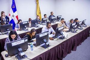 JCE informa 100% mesas instaladas exitosamente para prueba general del Voto Automatizado.