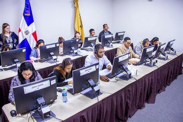 JCE informa 100% mesas instaladas exitosamente para prueba general del Voto Automatizado
