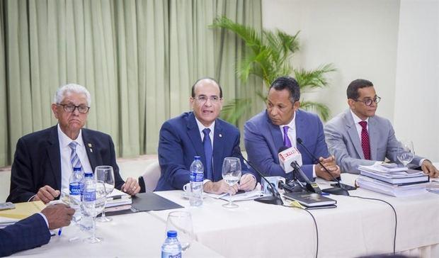 JCE presenta desglose del Proyecto de Presupuesto Institucional del año 2020 ante Comisión Bicameral de Presupuesto.