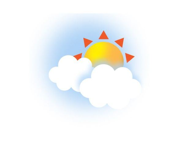 Temperaturas calurosas. Pocas probabilidades de lluvias