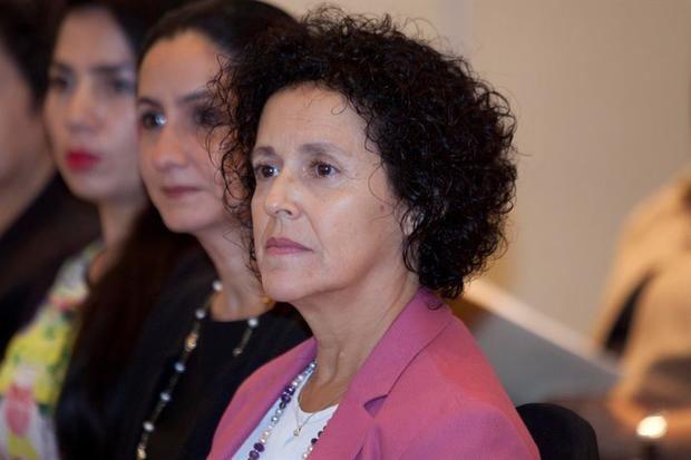 En la imagen, la representante de ONU Mujeres en Tegucigalpa, Margarita Bueso.
