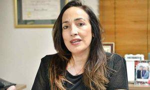 Amalia Inchaustegui de Hernández, directora del Colegio Santa Teresita.